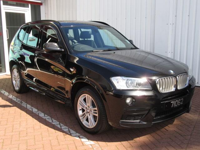 BMW X3 XDrive M-Sport 3.0 Auto Diesel